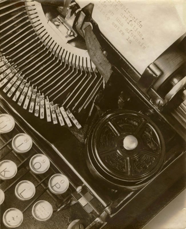 Tina Modotti, Mella's Typewriter, 1928