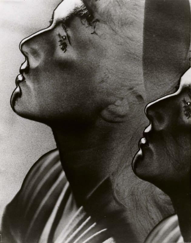 Man Ray, Double profile, solarized, 1932