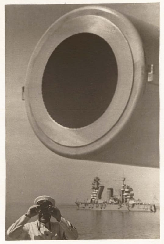Yakov Khalip, On Guard (Large-Bore Cannon), Baltic Fleet, 1936