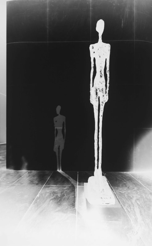 Vera Lutter, Alberto Giacometti, Tall Figure: October 29, 2013