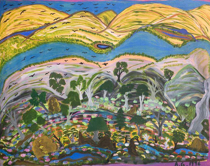 Angelina George, Ngukurr Hills, 1996