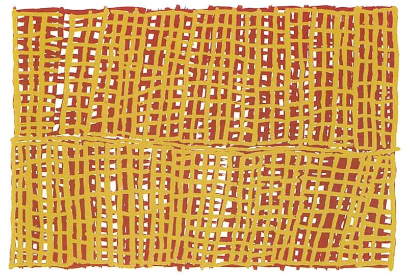 Freda Warlapini, Traditional Tiwi Motif, 1997