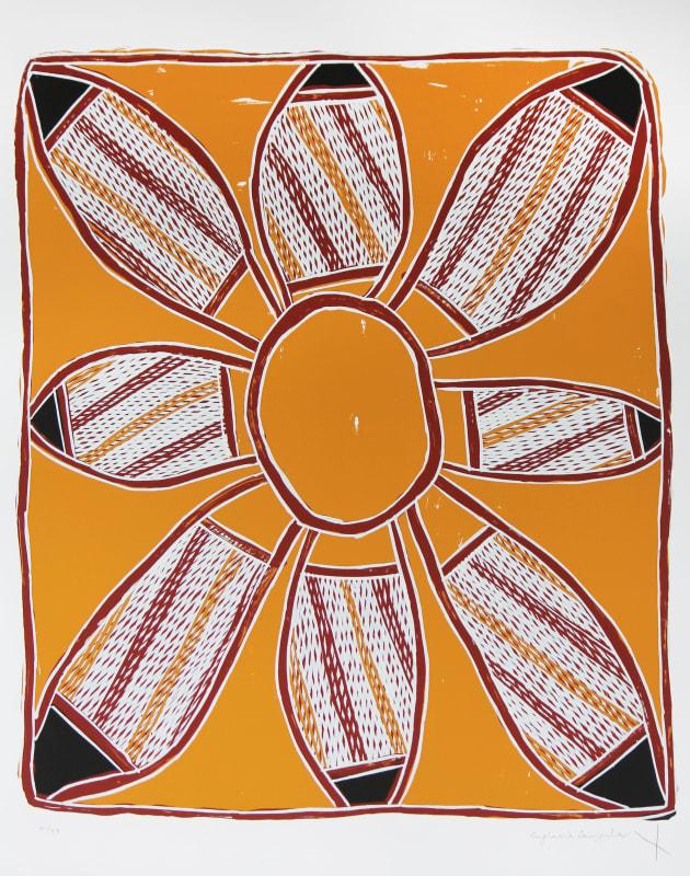England Bangala, Jin-gubardabiya-Pandanus Mat Dreaming, 1999