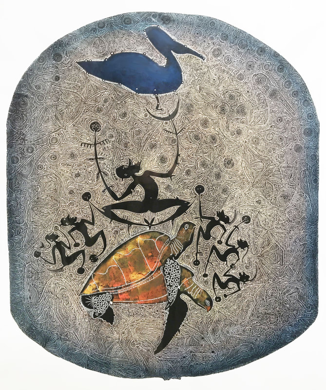 Dennis Nona, Awai Tithuyil Badu Island Story - The Pelican, 2006