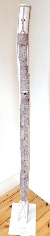 Owen Yalandja, Yawk Yawk Spirit Figure - Carving, n.d.