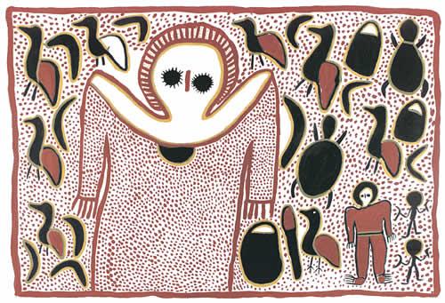 Lily Karedada, Wandjina, 1998