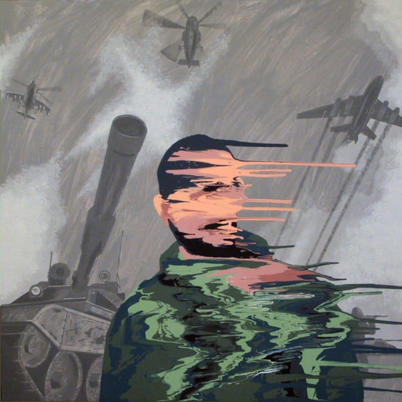 Иван Плющ. Эпизод 3 Холст, акрил, 149х149, 2011