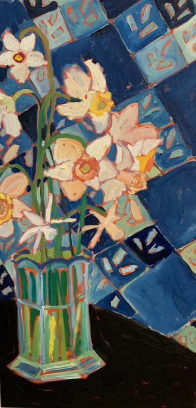 Christopher Broadhurst, The Garden Going On...Spring Narcissus, 2020