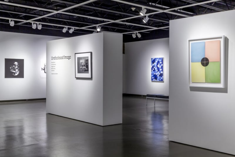 Installation view of the exhibition Undisclosed Image at Oklahoma City University.