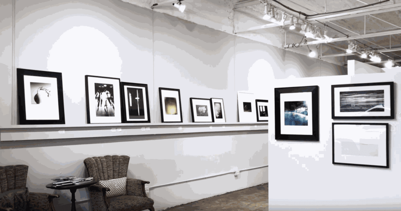 """Installation view of """"Light"""" at A Smith Gallery, a contemporary photography exhibition curated by Foto Relevance co-founder Geoffrey Koslov."""