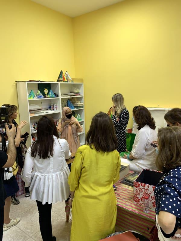 Studio tour by Dr. Najat Makki