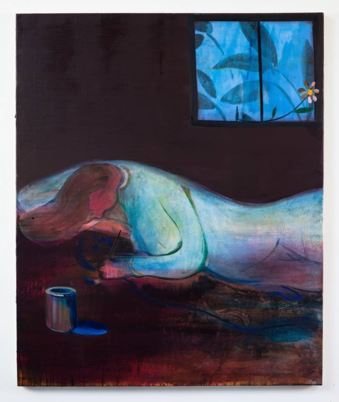 """Heidi Hahn's """"The Future Is Elsewhere (if It Breaks Your Heart) No. 9."""" Credit: Jack Hanley Gallery"""