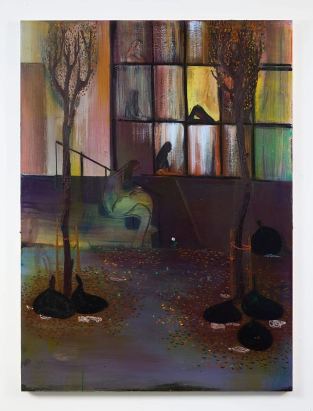 """Heidi Hahn's """"The Future Is Elsewhere (if It Breaks Your Heart) No. 7,"""" from 2017. Credit: Jack Hanley Gallery"""