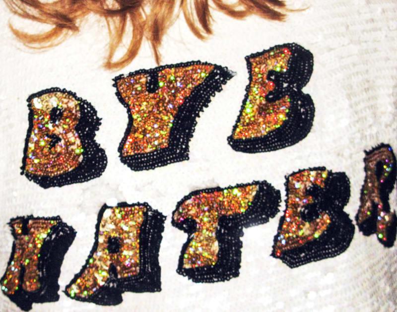 "Jessica Craig-Martin, ""Bye Hater,"" 2017."
