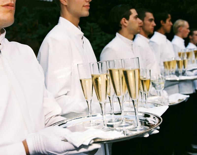 "Jessica Craig-Martin, ""Champagne Army,"" 2017."