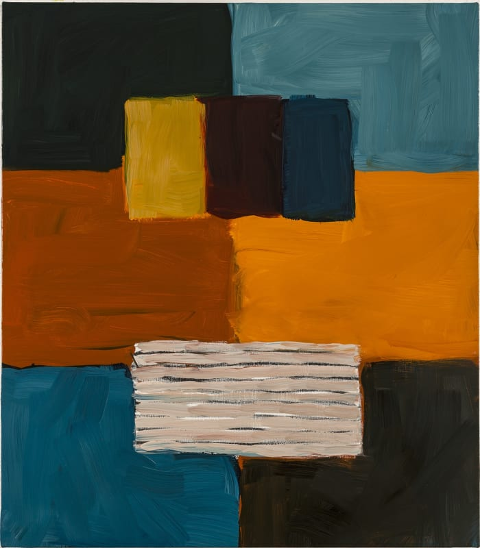 Sean Scully Unititled (Robe Figure), 2017 Oil on linen 81.5 x 71.5 cm. (32.1 x 28.1 in.)
