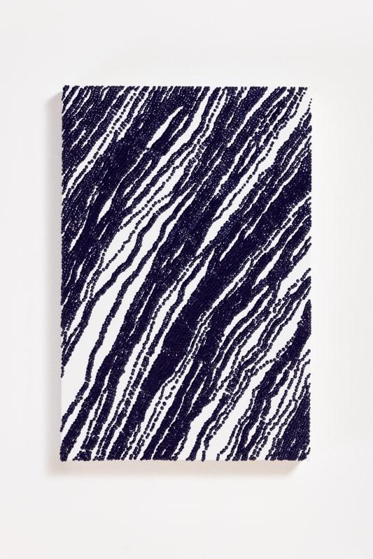 Mio Yamato, BLUE DOT, 2021, Oil on canvas, 41×27.3cm