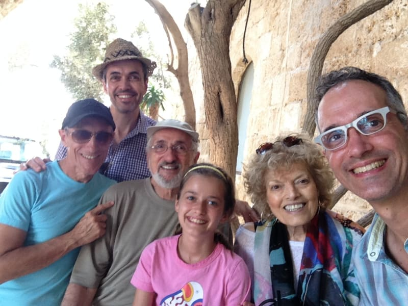 Wind family in Israel, Summer 2013