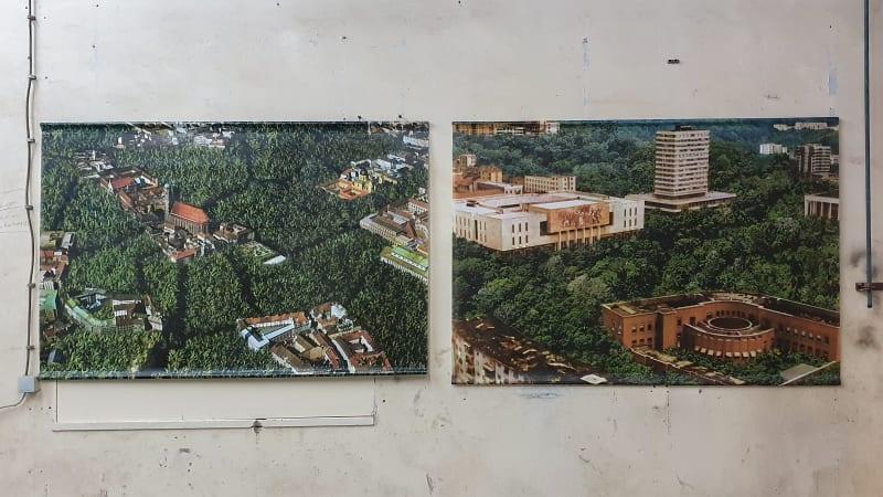 Bert Theis, Aggloville, 2001-2007, Exhibition view, 3rd Industrial Art Biennal, Croatia, 2020