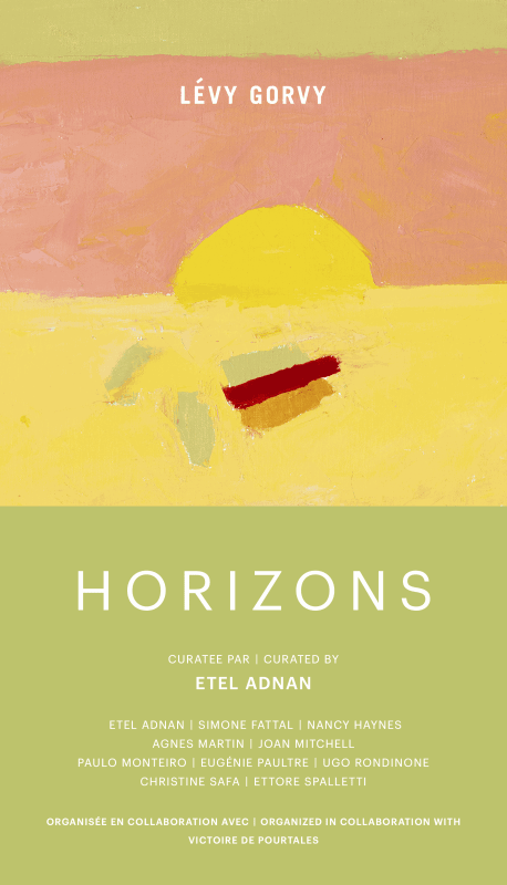 Horizons, Exhibition invitation, Lévy Gorvy Gallery, Paris