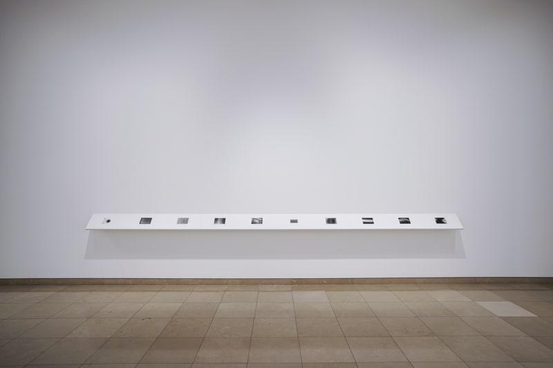Jeff Weber, Serial Grey, Exhibition view, Carré d'Art-Musée d'art contemporain de Nîmes