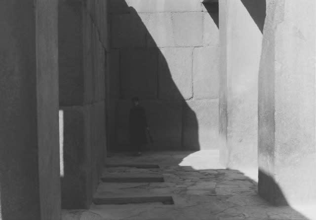 Jeff Weber, Untitled (Snejanka Mihaylova), Giza, Egypt, 2013, Gelatin silver print, 5 x 7 in.