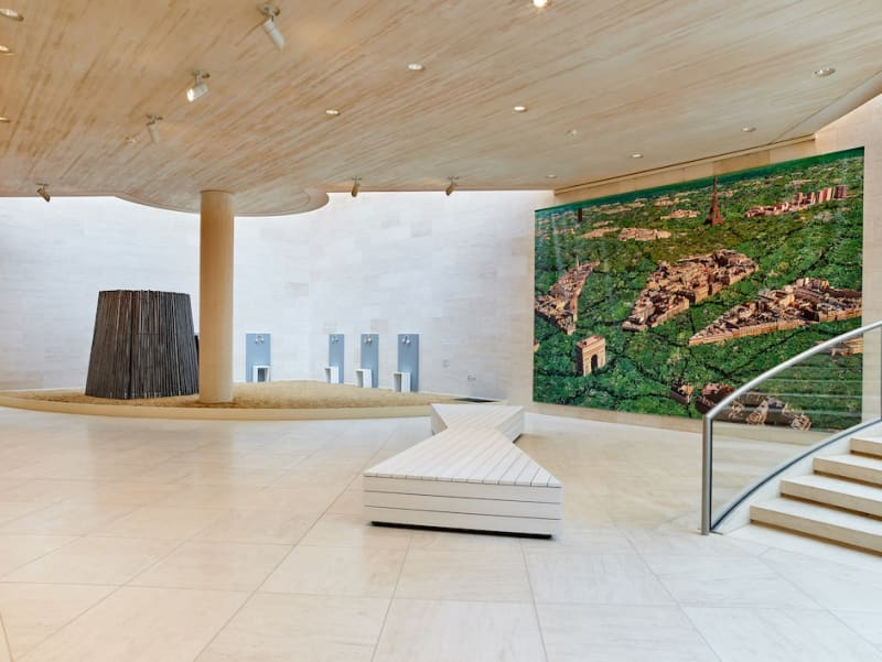 Building Philosophy, Cultivating Utopia, exhibition view, 2019, MUDAM Luxembourg
