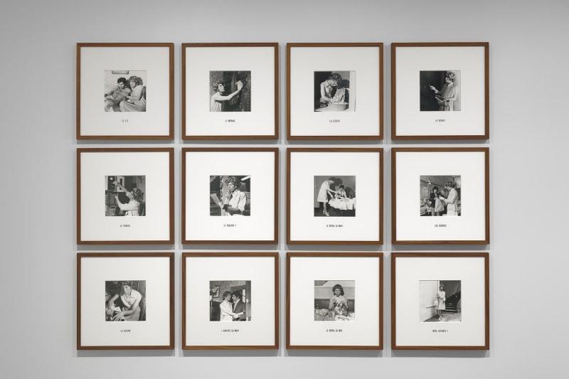 Michel Journiac, 24 heures de la vie d'une femme ordinaire, 1974 tirages argentiques Michel Journiac / ADAGP, Paris 2020 Courtesy Galerie Christophe Gaillard Photo : Aurélien Mole