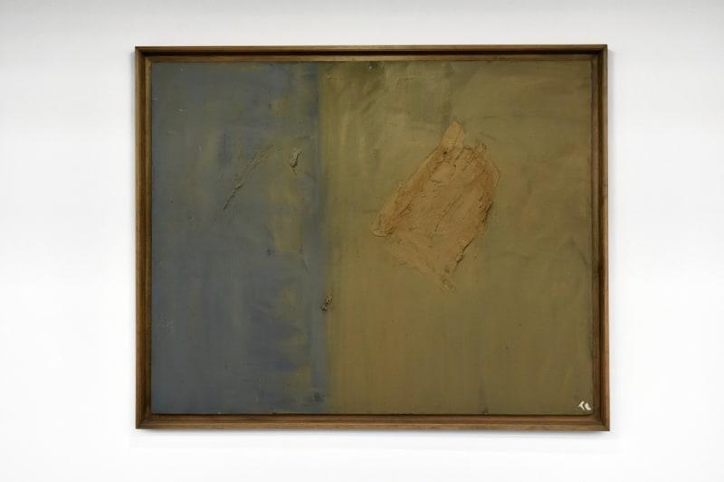 Abrupt, 1966. Huile sur toile, 130 x 162 cm © Adagp, Paris Crédit photographique : Philippe Lebruman