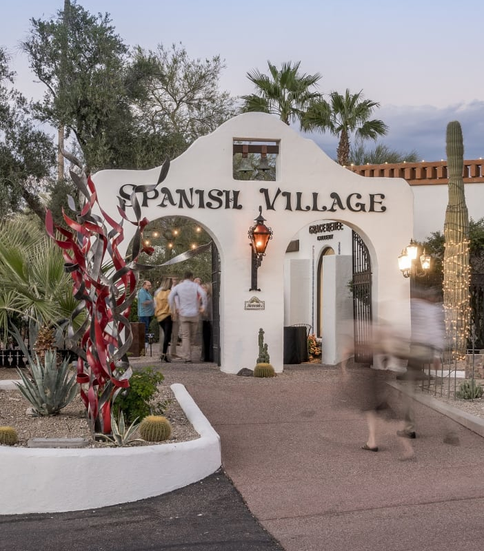 ContactGrace Renee Gallery is located in Historic Spanish Village