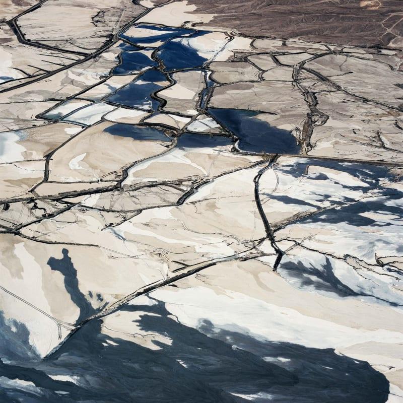David Maisel, Tailings Pond 5, Minera Centinela Copper Mine, Antofagasta Region, Atacama, Chile, 2018