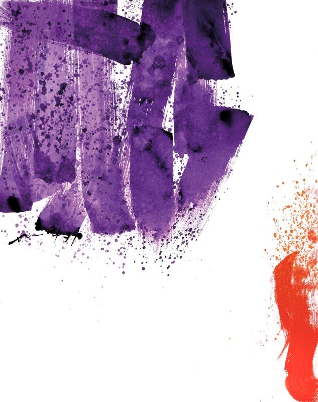 Hsiao Chin Infiniti Aspetti, 1979 Acrylic on paper 96 x 75cm