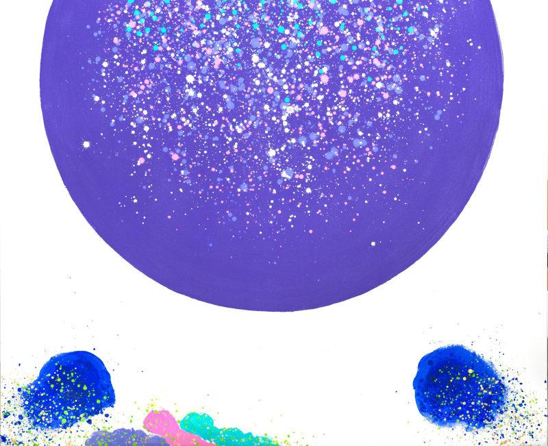 Hsiao Chin The Galaxy-13, 2001 Acrylic on canvas 90 x 110cm