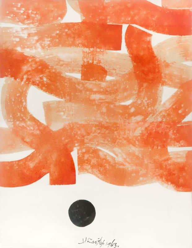 Hsiao Chin Incroci di Tao, 1963 Acrylic on canvas 90 x 70cm