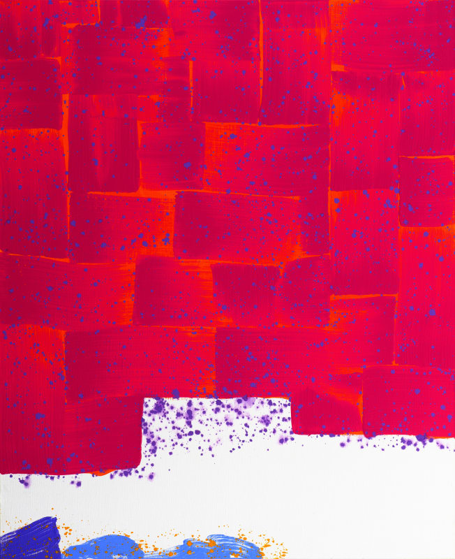 Hsiao Chin Beginning of Chi-5, 1983 Acrylic on canvas 110 x 90cm
