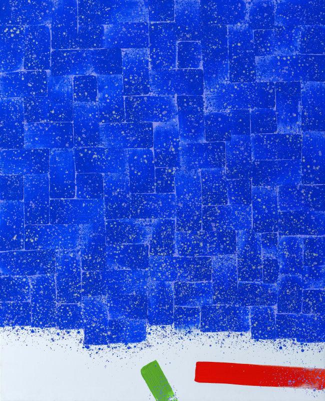 Hsiao Chin Samadhi-24, 2000 Acrylic on canvas 160 x 130 cm
