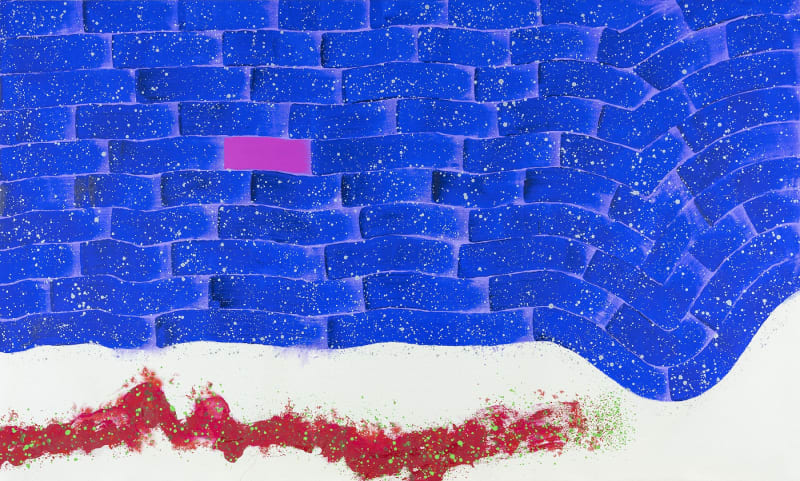 Hsiao Chin Leisure of Chi, 2015 Signed & Dated on Verso Acrylic on canvas 120 x 200cm