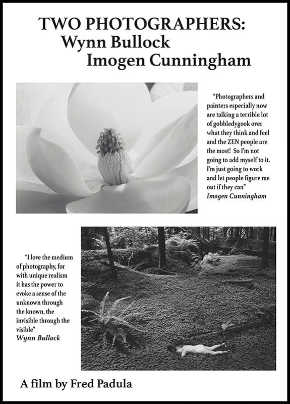 DVD - Two Photographers: Wynn Bullock, Imogen Cunningham