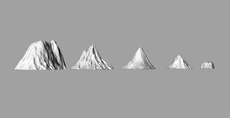 First There is a Mountain Render, 2018 Image © Katie Paterson First There is a Mountain is supported by the...