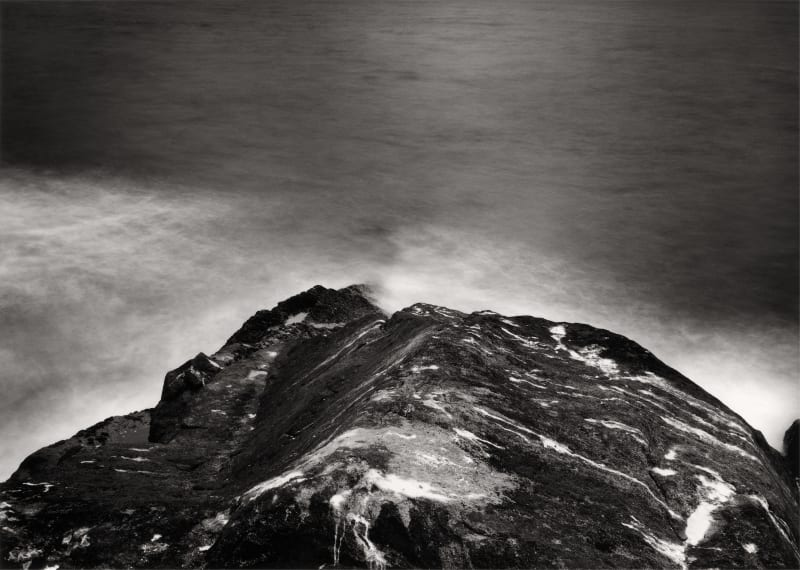 Thomas Joshua Cooper, Furthest North—The Barents Sea, Knivskjellodden, Finnmark, Norway, the North-Most Point of Continental Europe, 70°11.080´ N, 2003, selenium-...