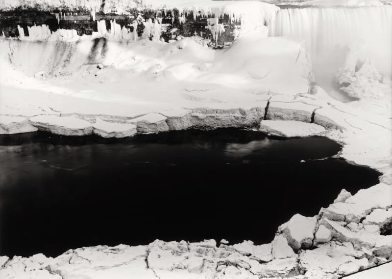 Thomas Joshua Cooper, Along the Frozen Rimtop of Horseshoe Falls—The Niagara Falls Basin and the Niagara River, Niagara Falls, Ontario,...