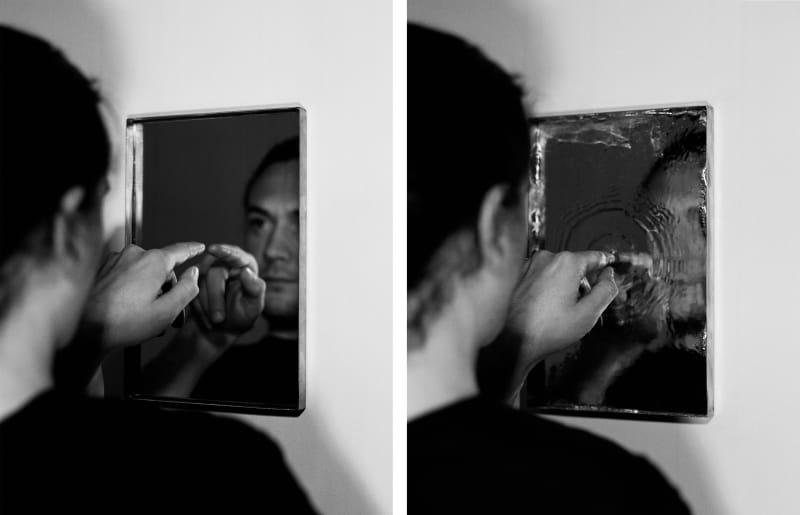 Jonny Lyons Stealing a Mirror, 2020