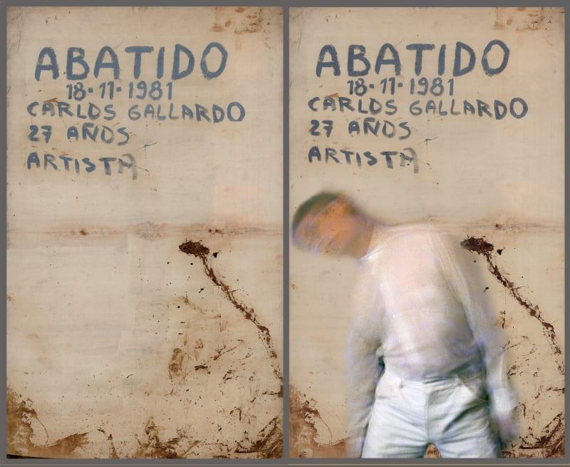 Carlos Gallardo, Abatido, A la Carne de Chile, 1981.