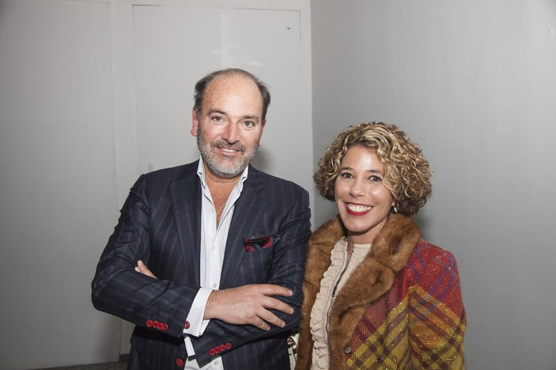 Carlos Willson, director of SISMICA, and Andrea Yarur. Photo: Cristián Aninat.