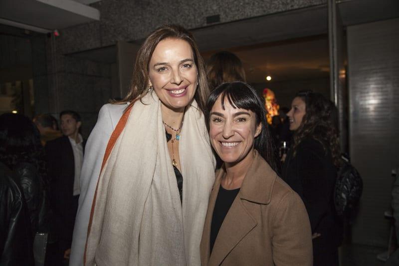 Rosita Parsons and Isabel Croxatto. Photo: Cristián Aninat.