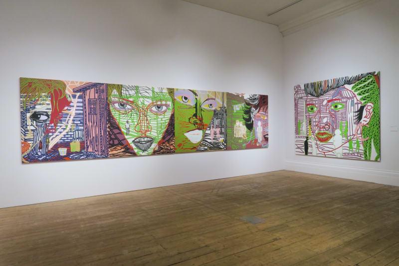 Boris Nzebo, Urban Style, Manchester Art Gallery