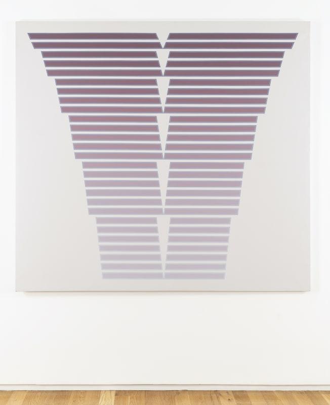 Tess Jaray, Cadence, 1986