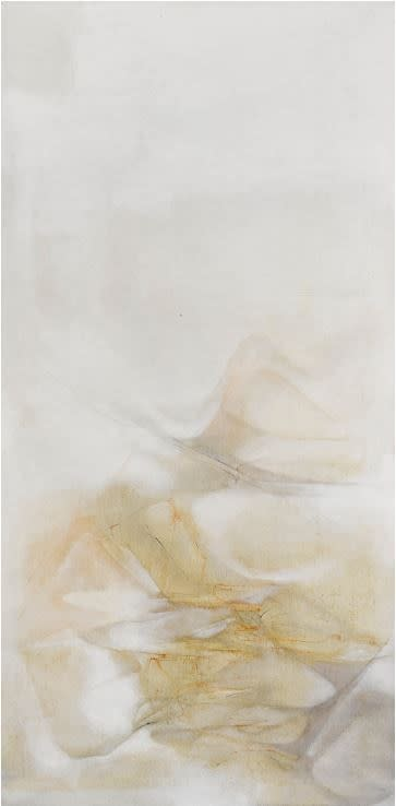 Untitled 無題, 1982, Oil on canvas 油彩畫布, 160 x 80 cm.