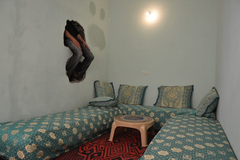 Hicham Benohoud Untitled, The Hole Series, 2015