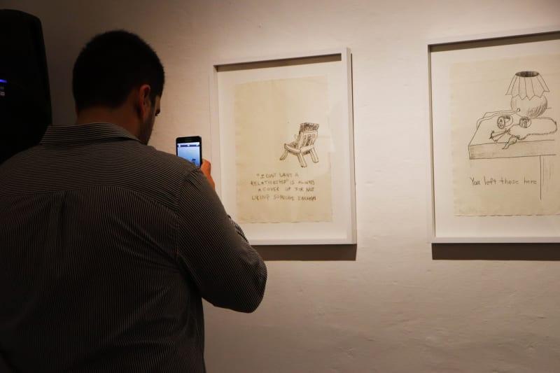 Ryan Falzon Exhibition, through Iniala5 partnership